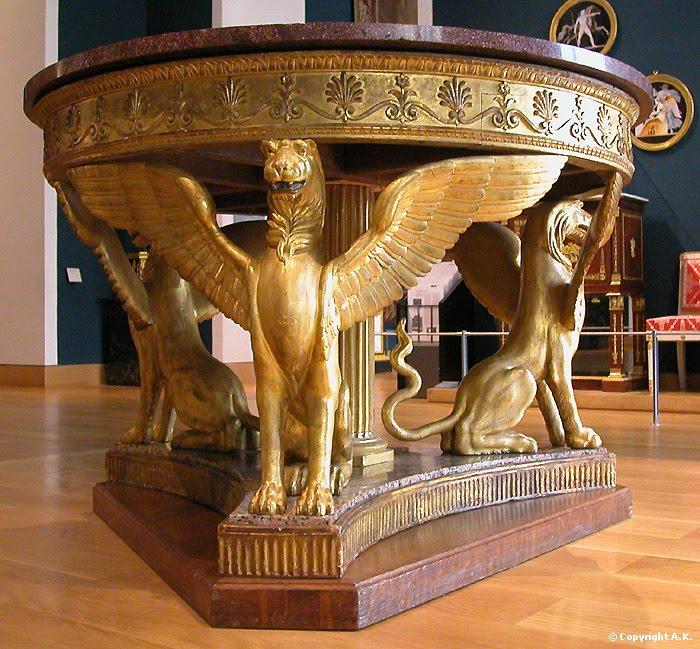 Peintures des mus es de france septembre 2011 for Lions meuble circulaire