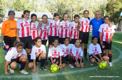 FUTBOL INFANTIL FEMENINO: GRAN ACTUACI&Oacute;N DE SUB 13 DE FLORIDA