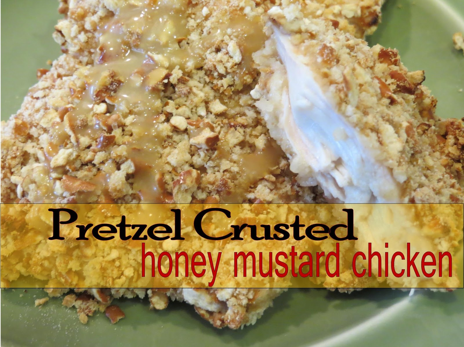 Two Magical Moms: Pretzel Crusted Honey Mustard Chicken