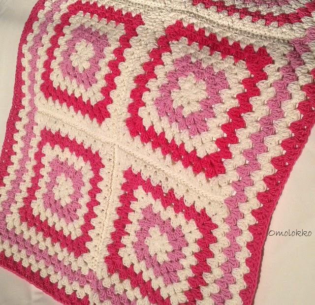 Crochet granny blanket / Szydełkowy kocyk