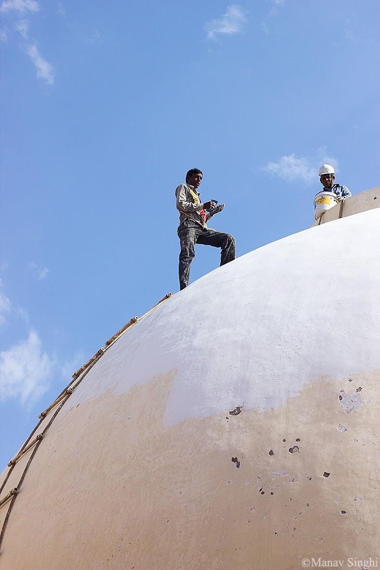 Renovation of Jawahar Kala Kendra.