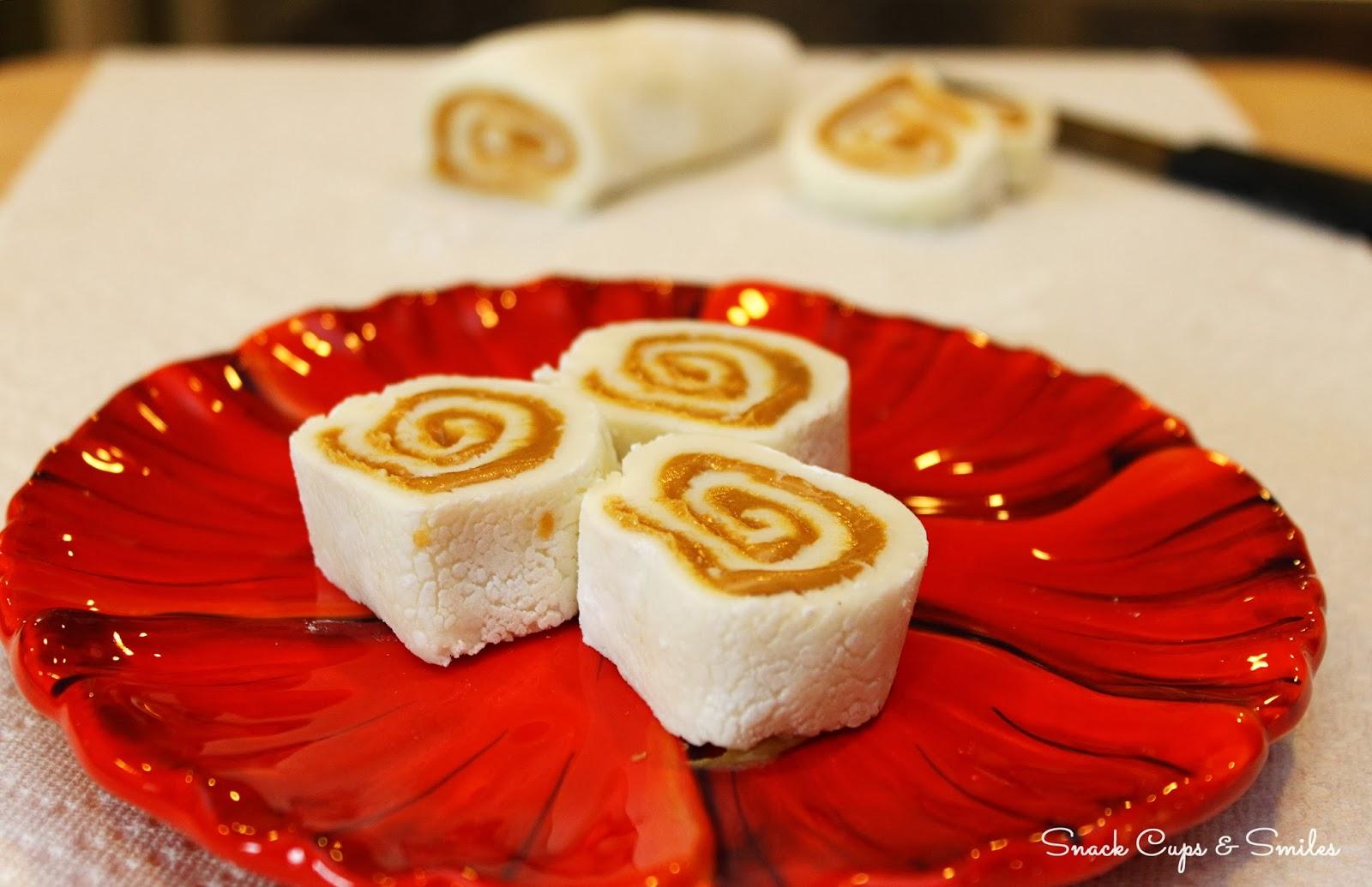 peanut butter roll #candy #desserts #peanutbutter