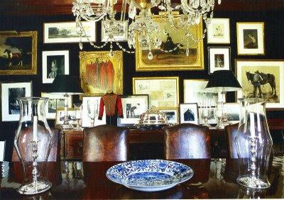 Welcome To Bonnes Amies!: Ralph Lauren Dining Room