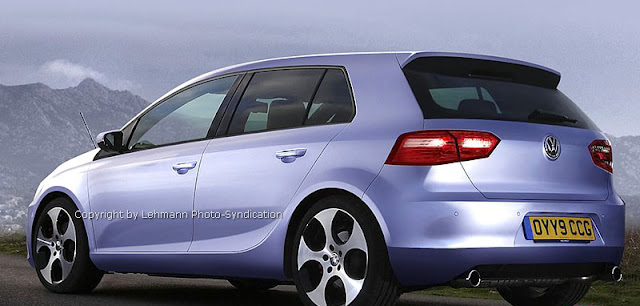 new generation VW Golf VII 2014