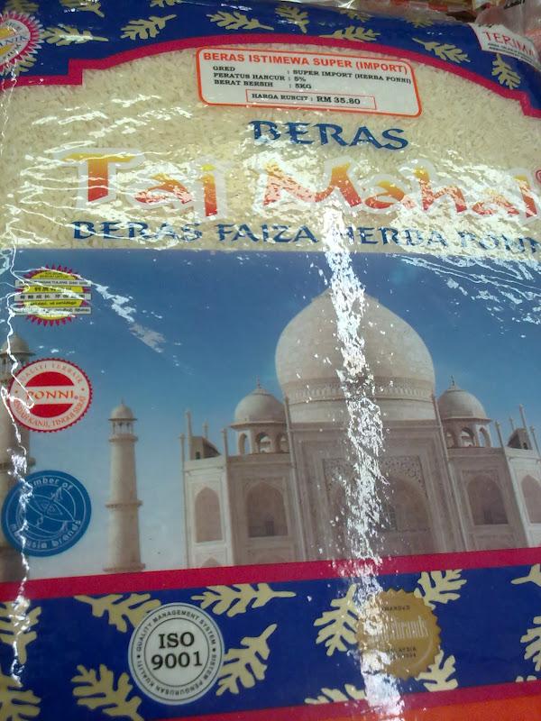 Jual Beras Taj Mahal Di Jakarta