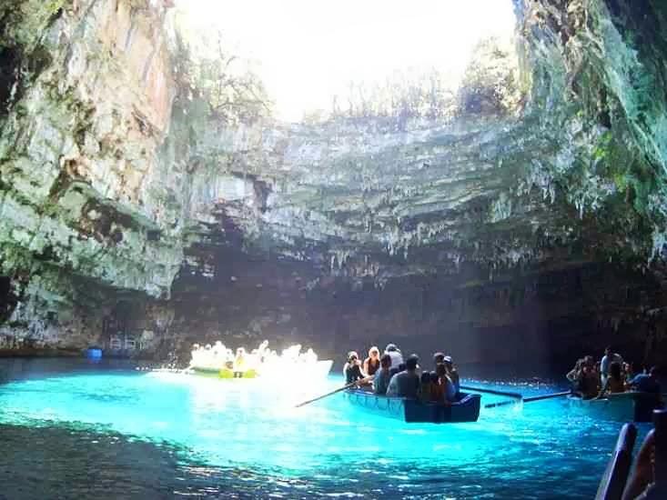 Melissani Cave-Lake