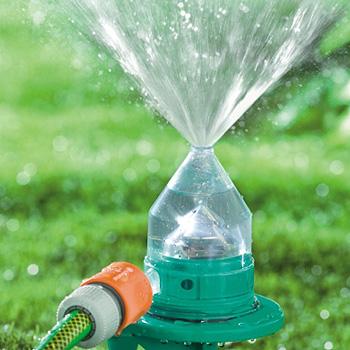 Garden center ejea aprovechando el agua en nuestro jard n for Aspersores de agua para jardin