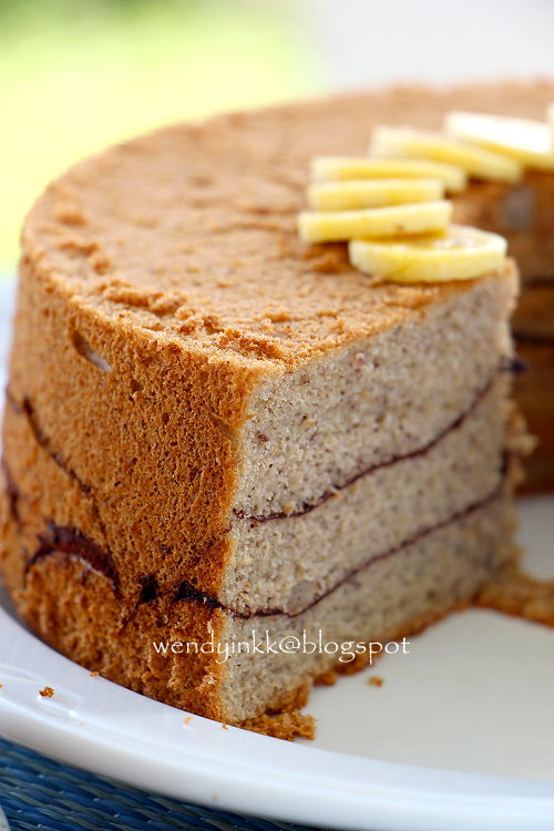 Banana Chiffon Cake Christines Recipes