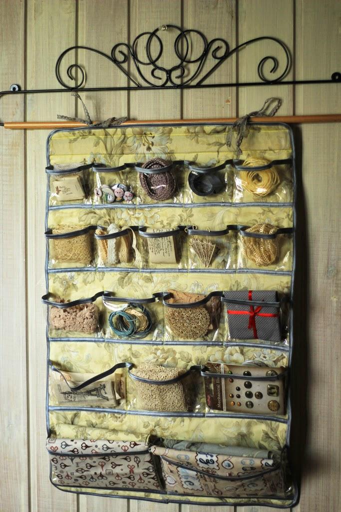 органайзер для рукоделия, панно с кармашками, органайзер настенный, органайзер для ниток