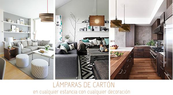 made in spain, ecodiseño lámparas de cartón homepersonalshopper
