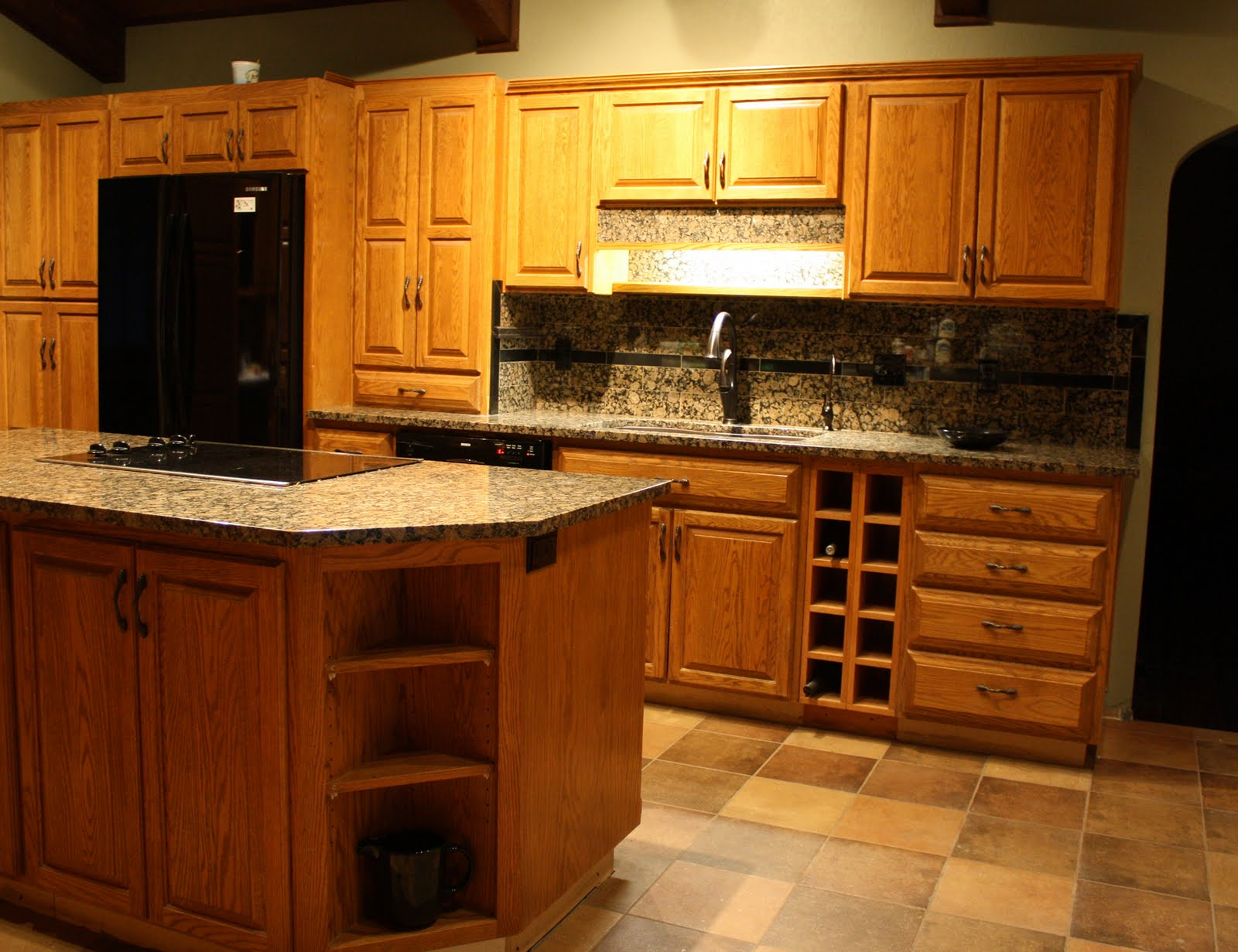 Oak Kitchen Cabinets Oil Rubbed Bronze