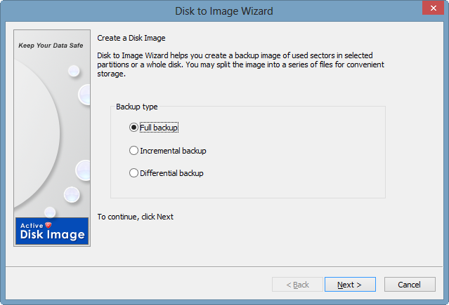 create image wizard