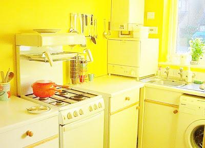 Image-Yellow-Kitchen-Furniture-Contemporary-Kitchen-Design