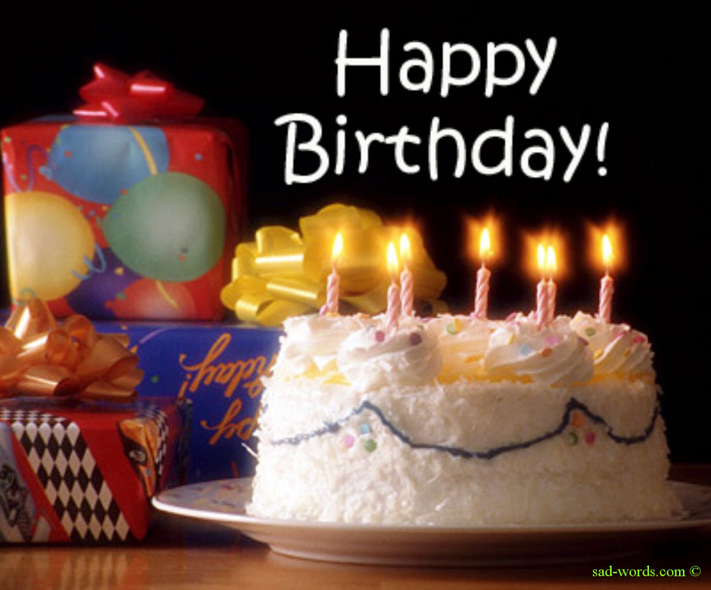 صور تورت لاعياد الميلاد http://www.sad-words.com/2013/05/Happy-birthday-cake-hd.html
