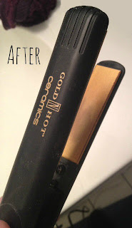 how to clean a flat iron, how to clean a curling iron