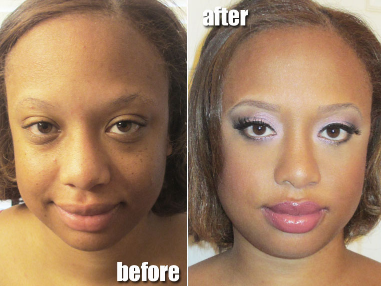 Airbrush Bridal Makeup Before And After : Airbrush Makeup before and After submited images.