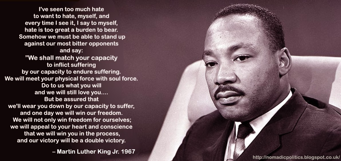 nonviolence martin luther king jr