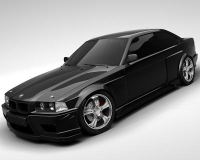 Black bmw cars wallpeper