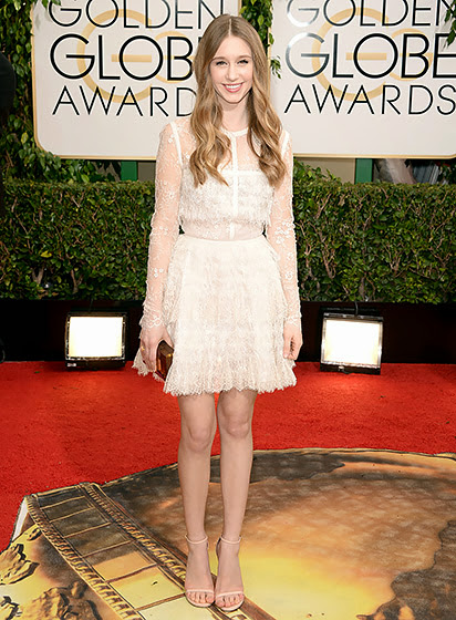 Taissa Farmiga in Golden Globes 2014