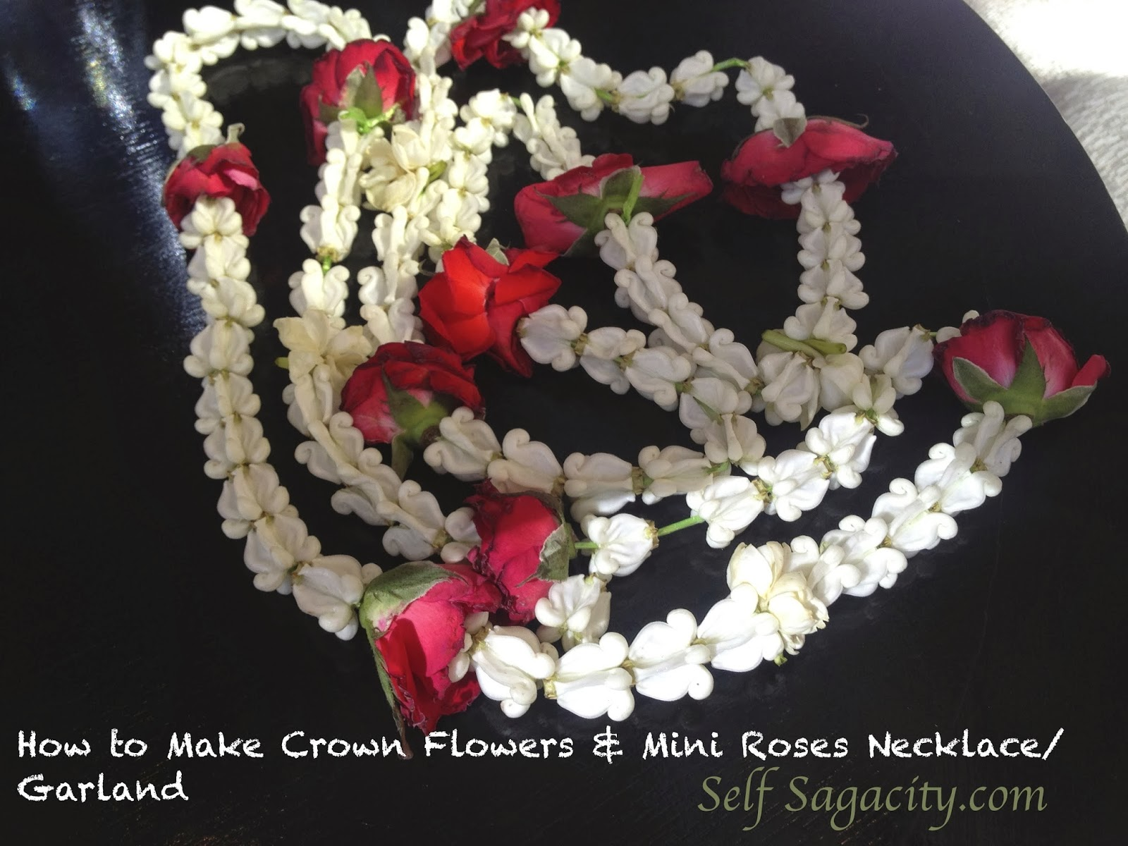 Crown Flowers Necklace Puang Malai