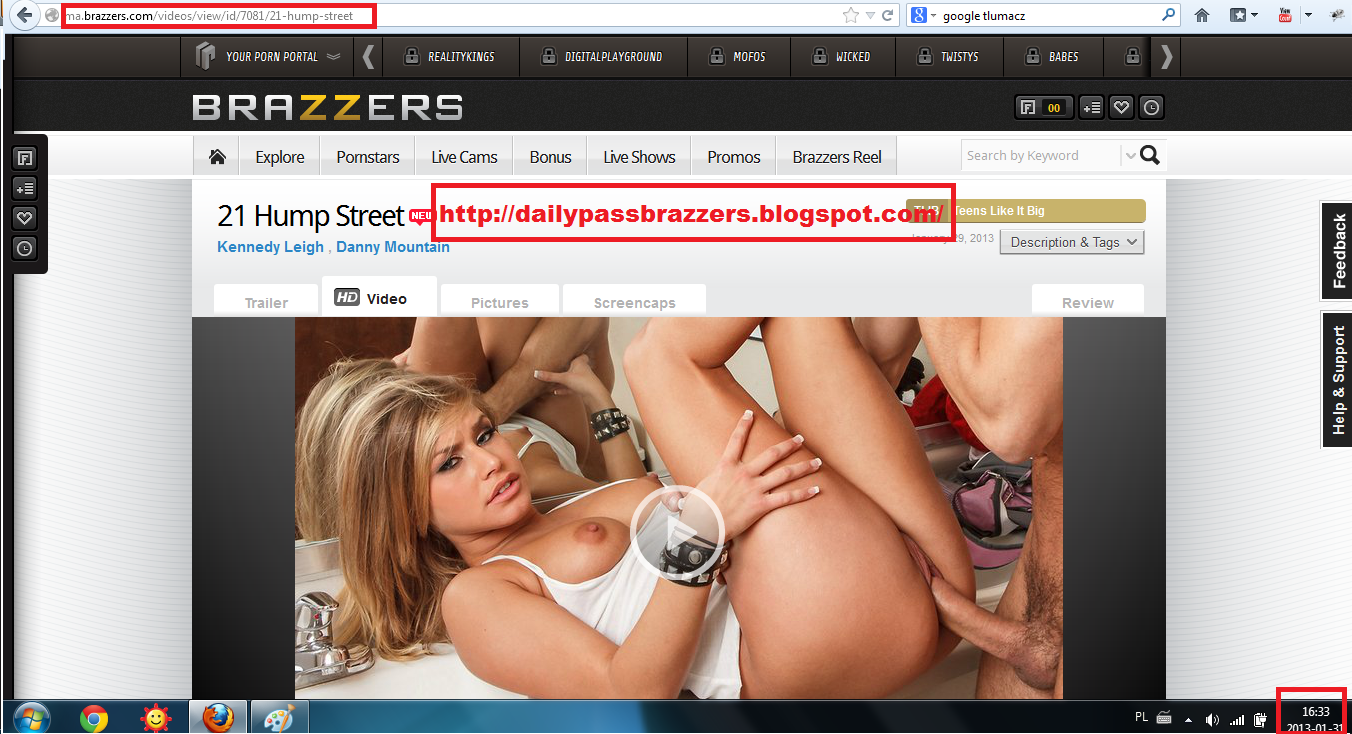 Brazzer usernames and passwords
