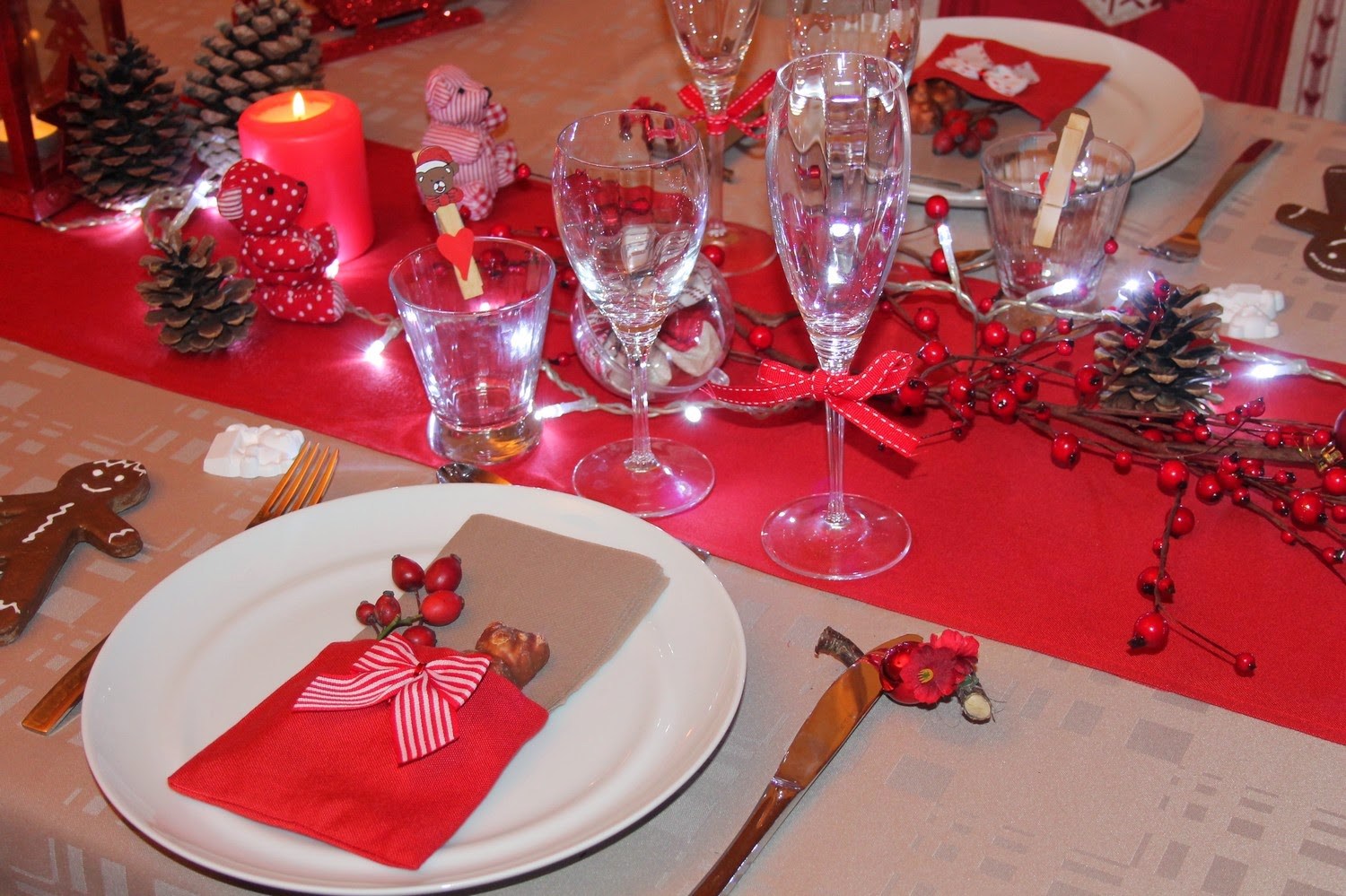 Mes motsdoubs des id es pour vos d cos de table pour no l for Decoration pour table de noel
