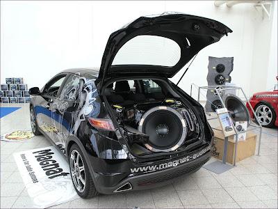 Honda Civic Com som automotivo tunado