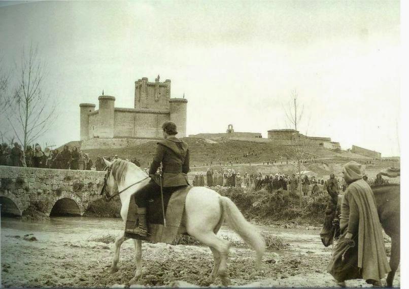 Charlton Heston a caballo en El Cid