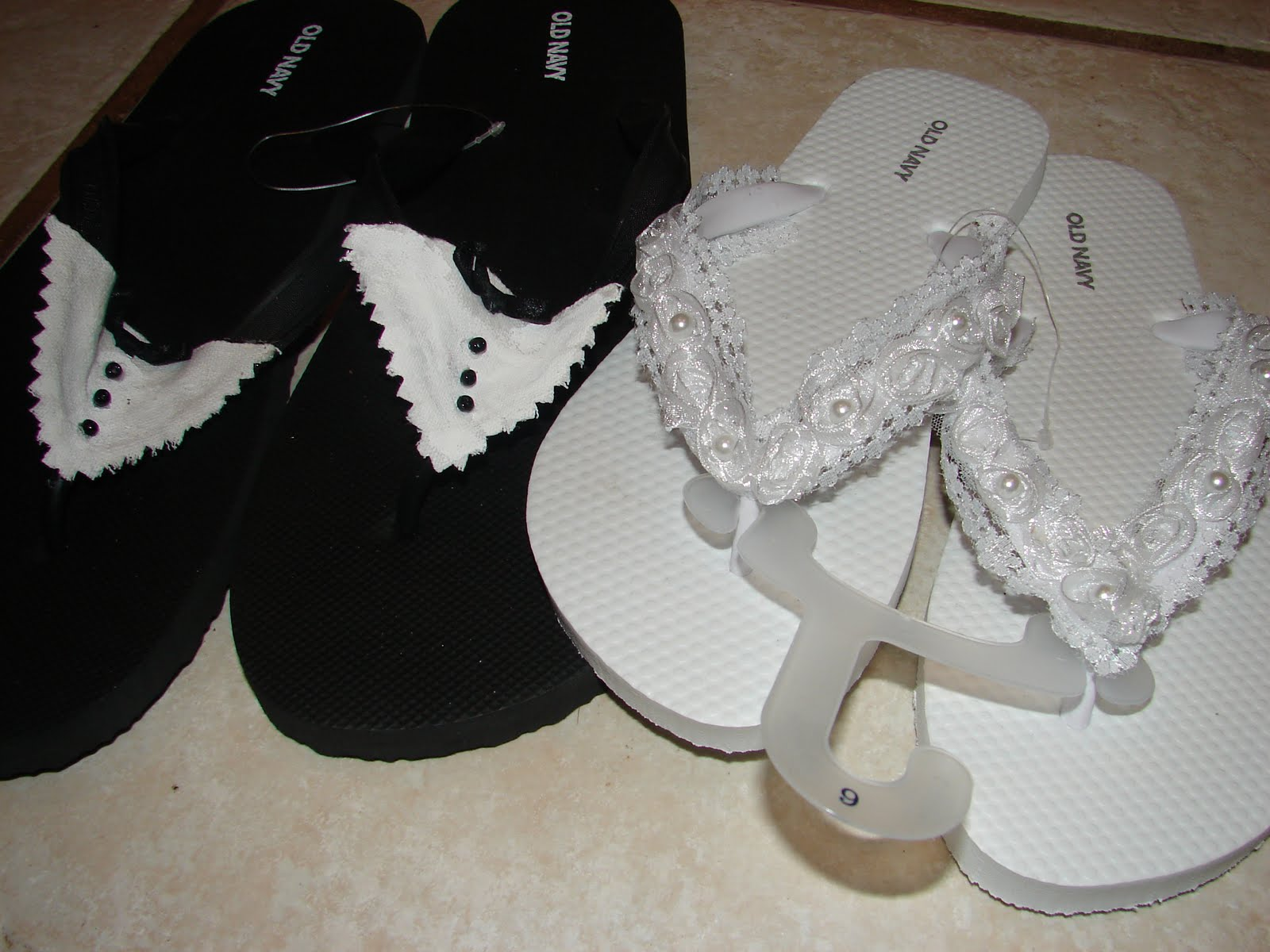 c84950219ec9 Home on the Range Exchange  Bridal Flip-Flops