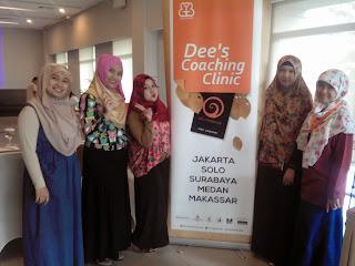 """Oleh – oleh Coaching Clinic Dee""""s di Hotel Santika Dyandra Medan"""