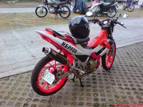 Modif Suzuki satria 150