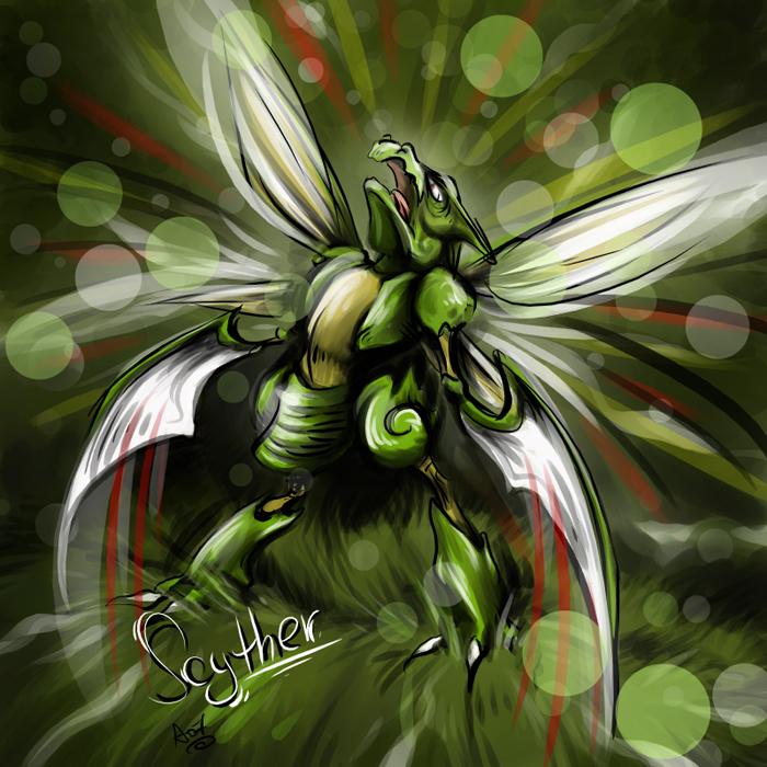 Who's stronger, Scyther or Scizor? - Pokemon SoulSilver ...