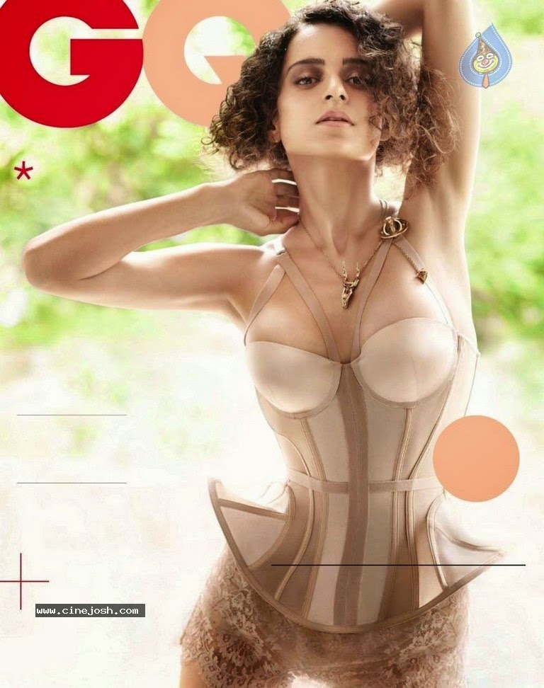 click for full size image kangana ranaut hot bikini gq