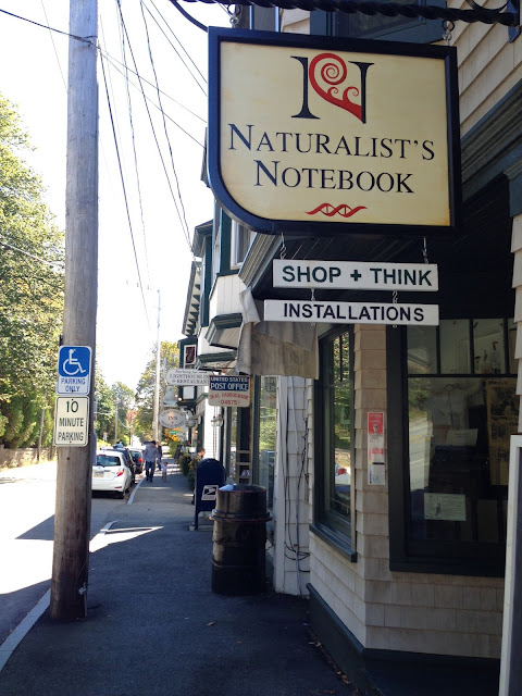 naturalists notebook
