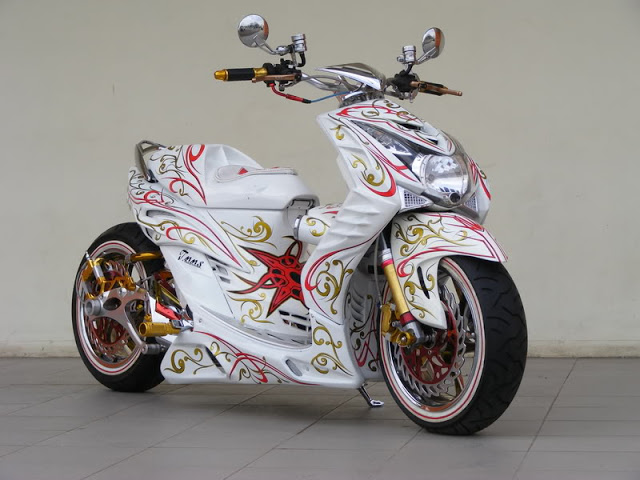 Modifikasi Motor Mio Soul