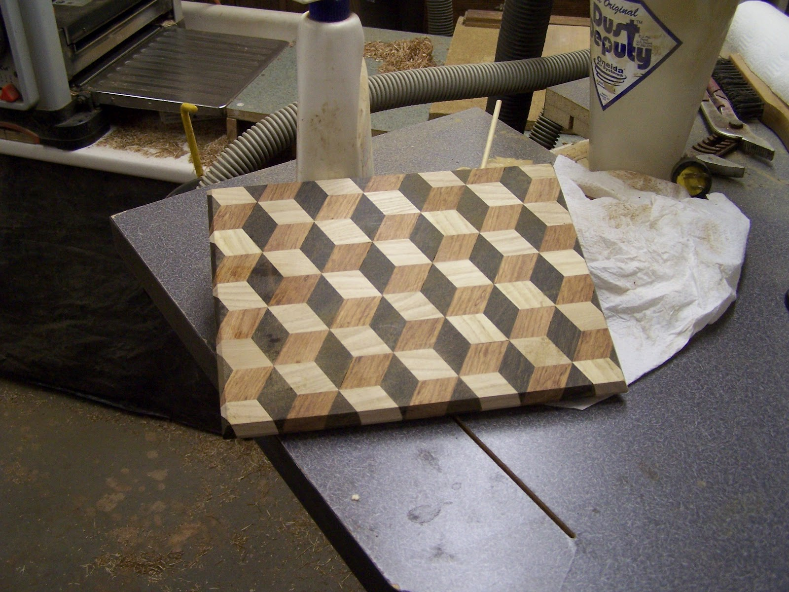 Basket Weaving Jig : My grandfathers lathe d patterns in wood working