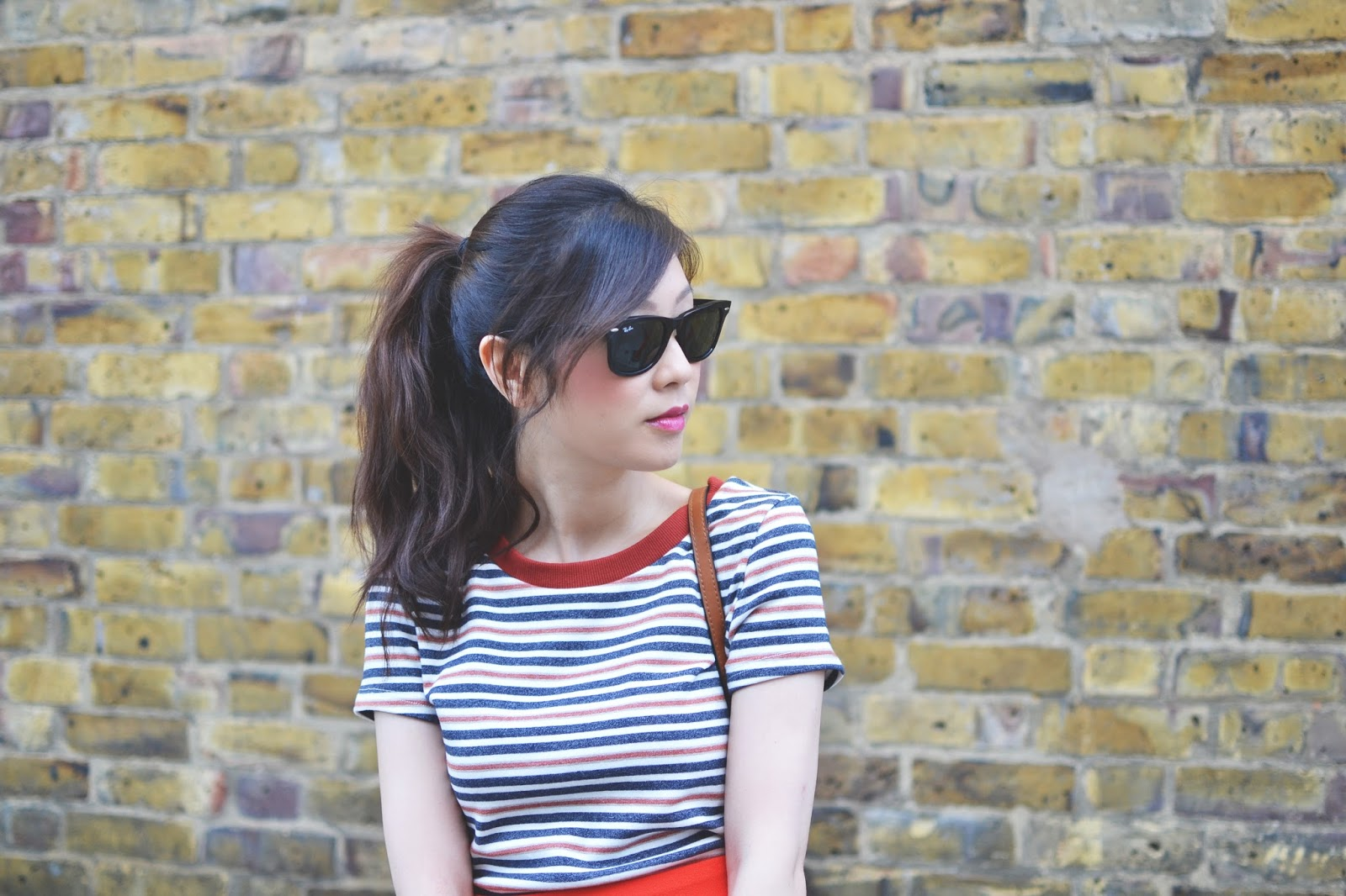 stripy top from asos