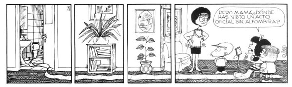 Mafalda jugando al gobierno 4