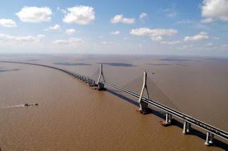 10 jembatan terpanjang di dunia-Donghai Bridge-top ten
