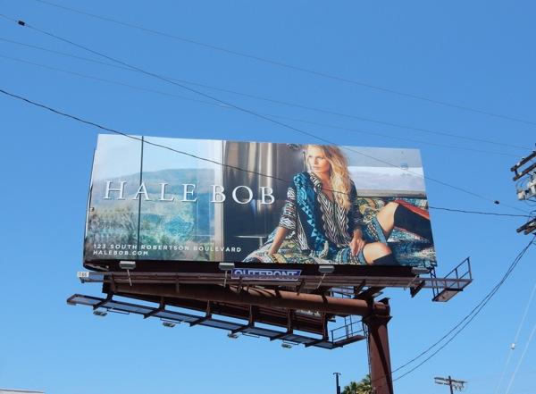 Hale Bob Summer 2015 fashion billboard