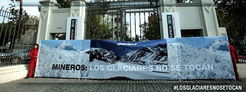 Los glaciares no se tocan
