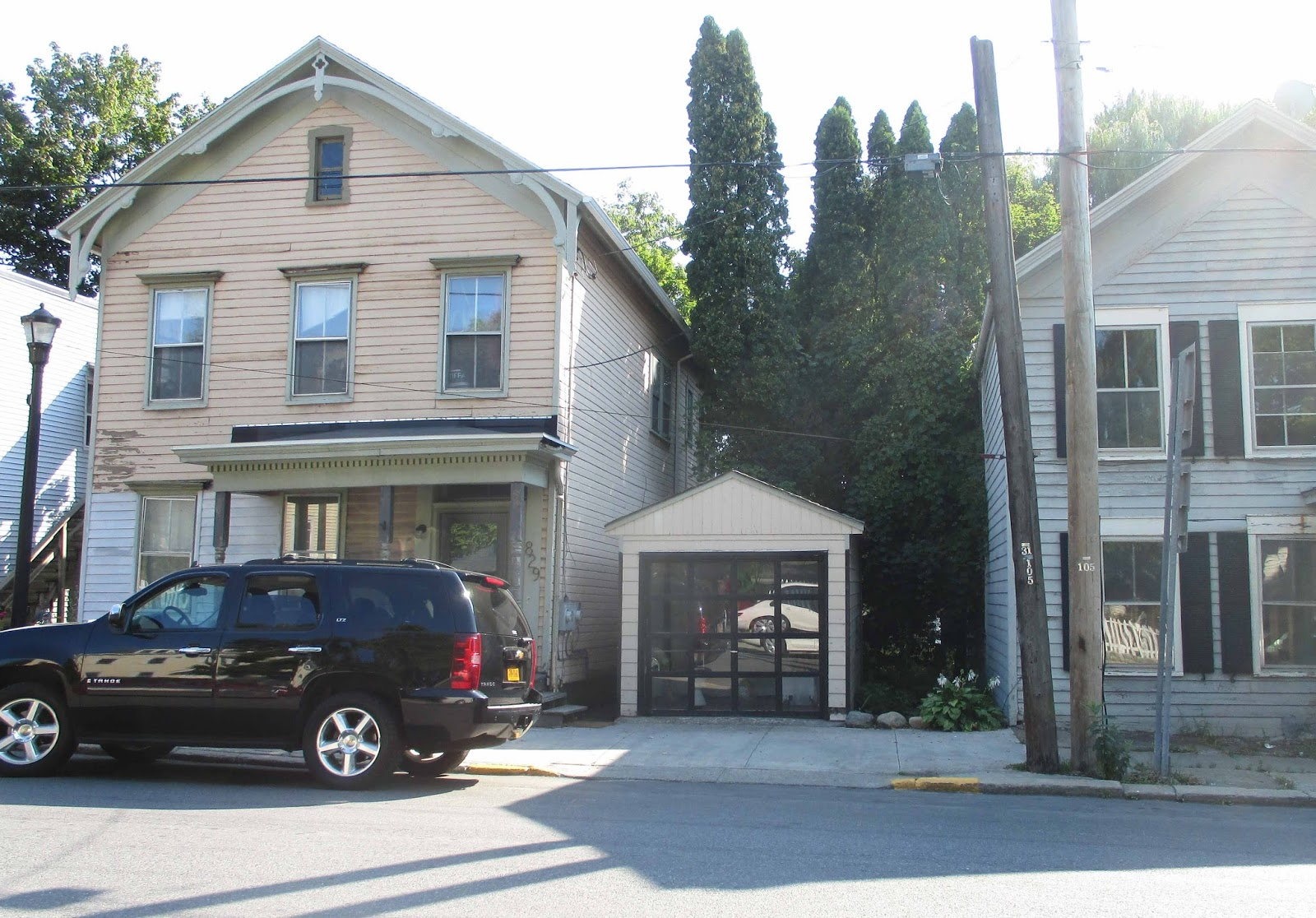 The Gossips of Rivertown: Tall Garage Gets Certificate of ...