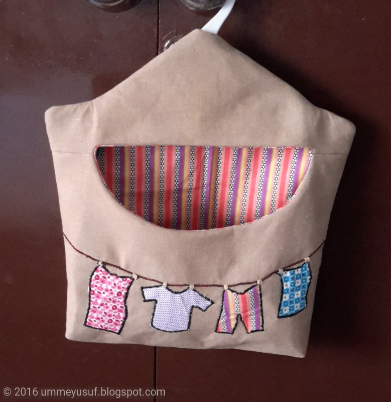 Umme Yusuf Sewing Clothespin Bag Simple Clothespin Bag Pattern
