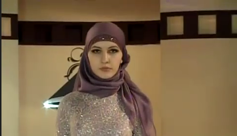 Хава Эдильханова - чеченская модель