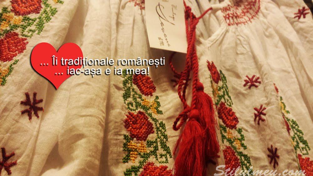 Modele de II Traditionale Brodate Romanesti, Iac-asa e Ia Mea!