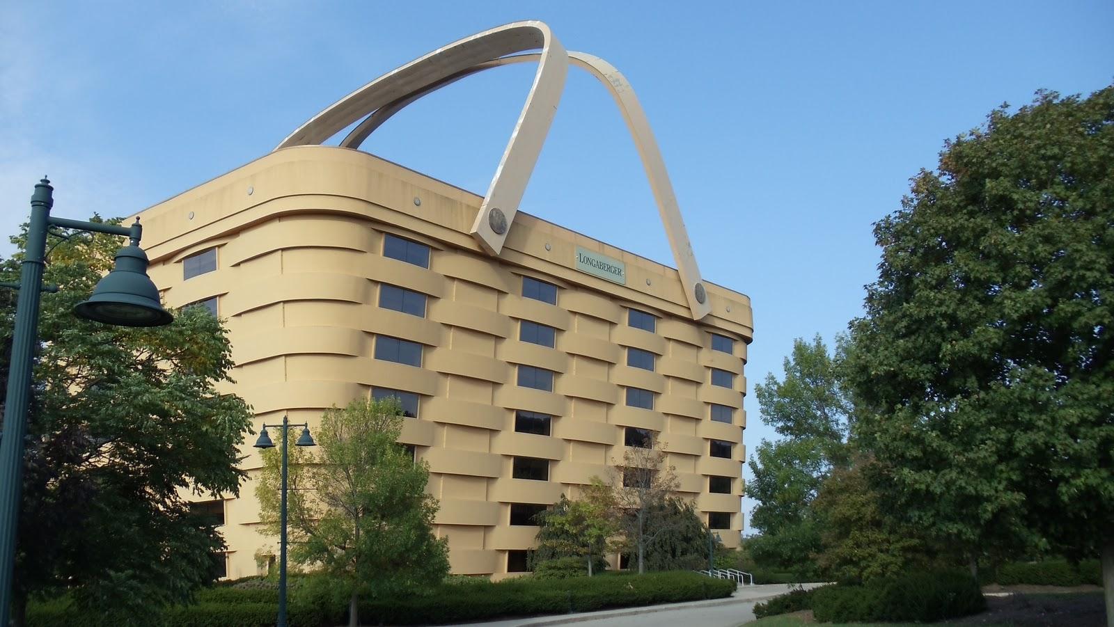 Jim and bev a tisket a tasket Longaberger basket building for sale