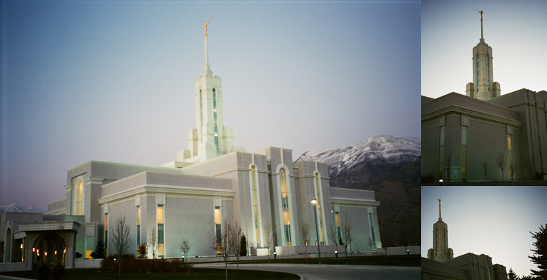 Mount Timpanogos Utah Temple, January 15, 2000