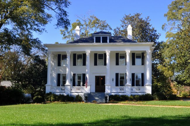 greek revival architecture in madison ga - Greek Revival Cottage