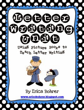 http://www.teacherspayteachers.com/Product/Letter-Writing-Unit-Using-Picture-Books-to-Teach-Letter-Writing-124848