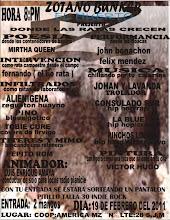 """DONDE LAS RATAS CRECEN/SÒTANO BUNKER """"EL HUERTO"""""""